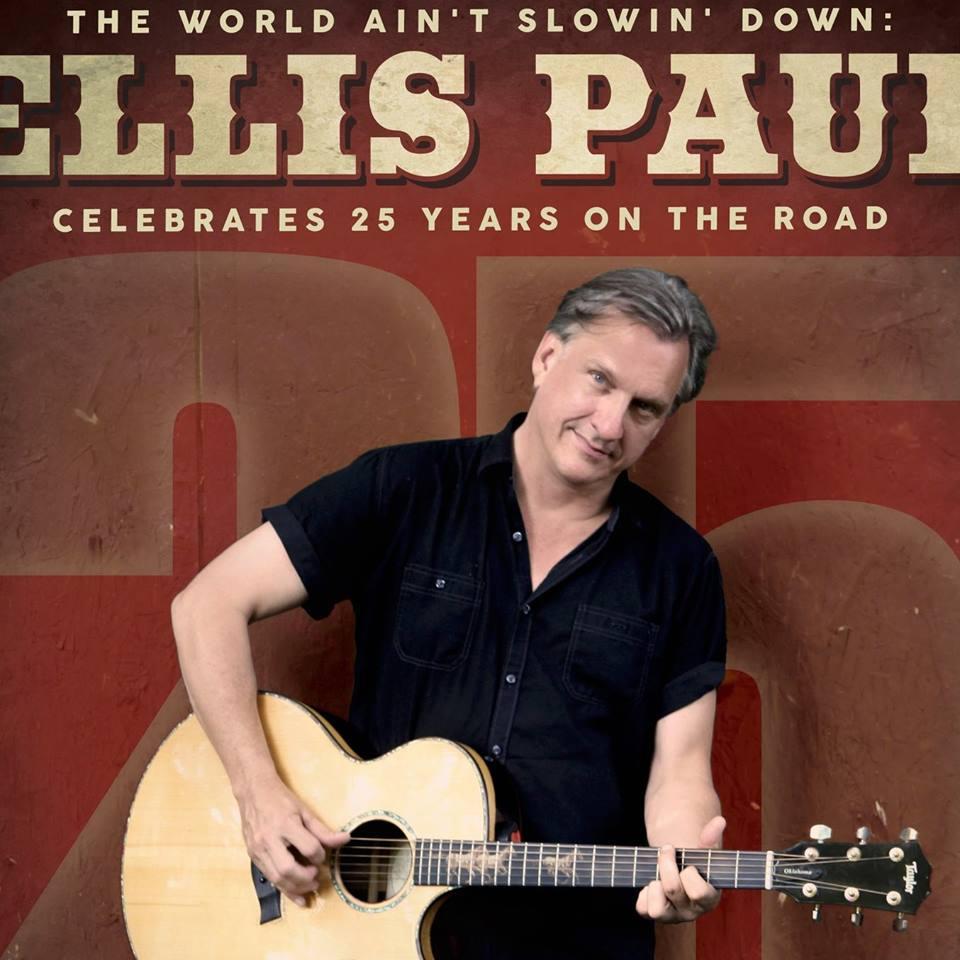 August 11, 2018 - Ellis Paul | Hideaway Cafe & Recording Studio